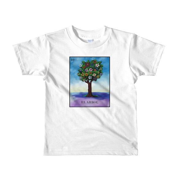 El Arbol Loteria kids 2-6 yrs t-shirt