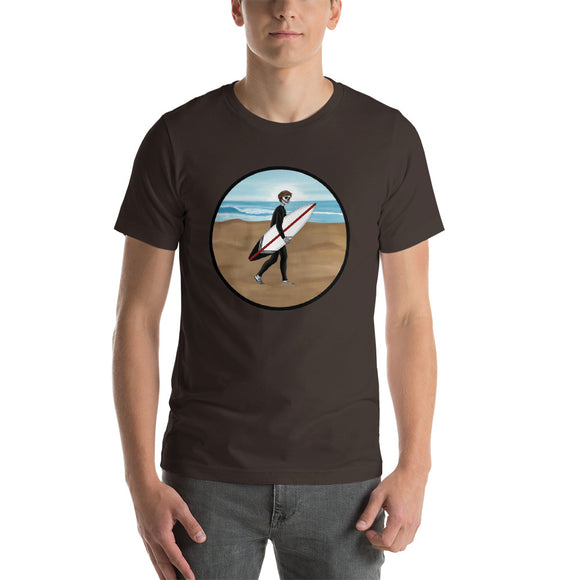 El Surfista Circle Men's T-Shirt