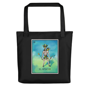 El Apache Loteria All-Over Tote bag