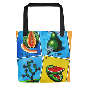 Las Frutas Loteria All-Over Tote bag