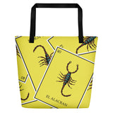 El Alacran Loteria All-Over Beach Bag