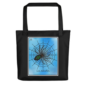 La Araña Loteria All-Over Tote bag