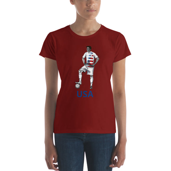 El Futbolista USA Plain Women's t-shirt