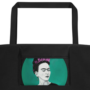 Frida Circle Beach Bag