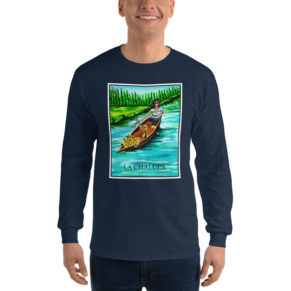 La Chalupa Loteria Men's Long Sleeve T-Shirt