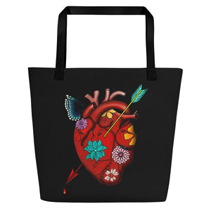 El Corazon Beach Bag