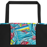 El Pescado Loteria All-Over Beach Bag