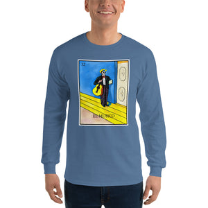 El Musico Loteria Mens Long Sleeve T-Shirt