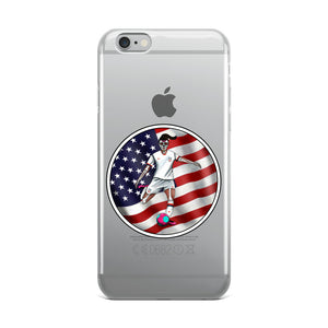 La Futbolista USA Women's Soccer iphone case by Pilar Grother