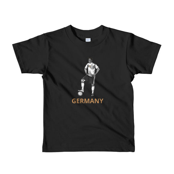 El Futbolista Germany Plain Kids 2-6yrs t-shirt