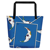 La Luna Loteria All-Over Beach Bag