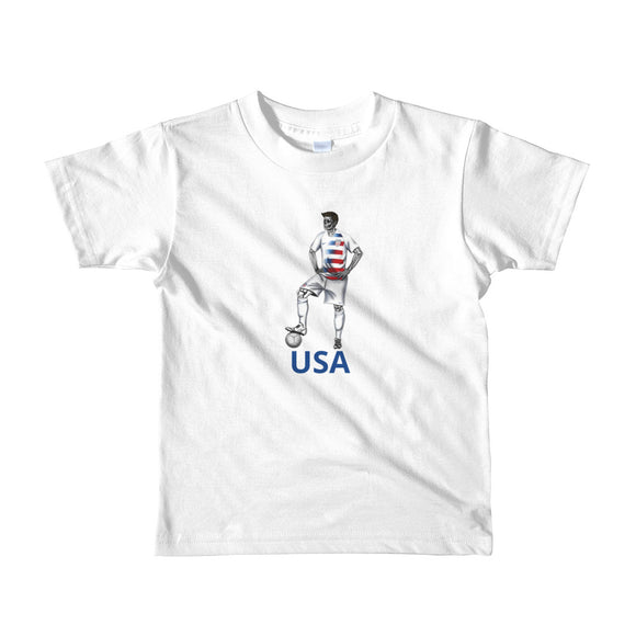 El Futbolista USA Plain kid's 2-6 yrs t-shirt