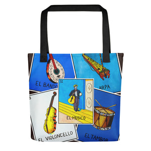 La Musica Loteria All-Over Tote bag