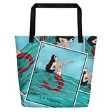 La Sirena All-Over Beach Bag