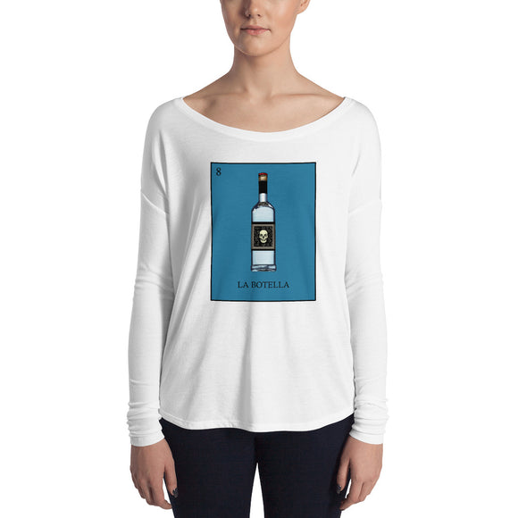 La Botella Loteria Womens Long Sleeve Tee