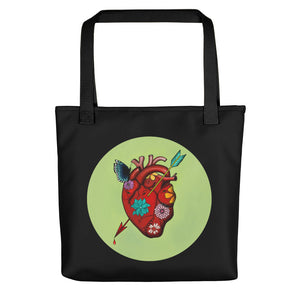 El Corazon Circle All-over Tote bag