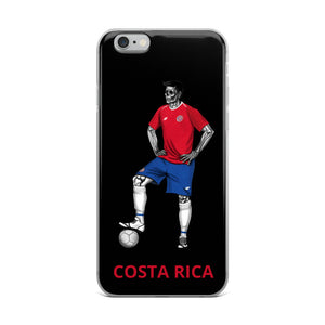El Futbolista Costa Rica iPhone Case