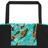 La Chalupa Loteria All-Over Beach Bag