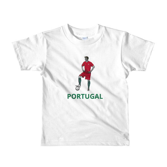 El Futbolista Portugal Plain Kids 2-6yrs t-shirt