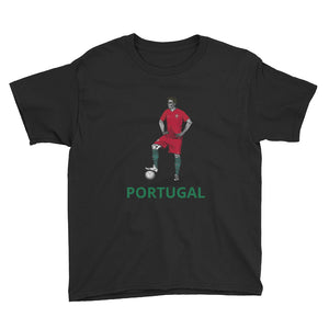 El Futbolista Portugal Plain Boy's T-Shirt