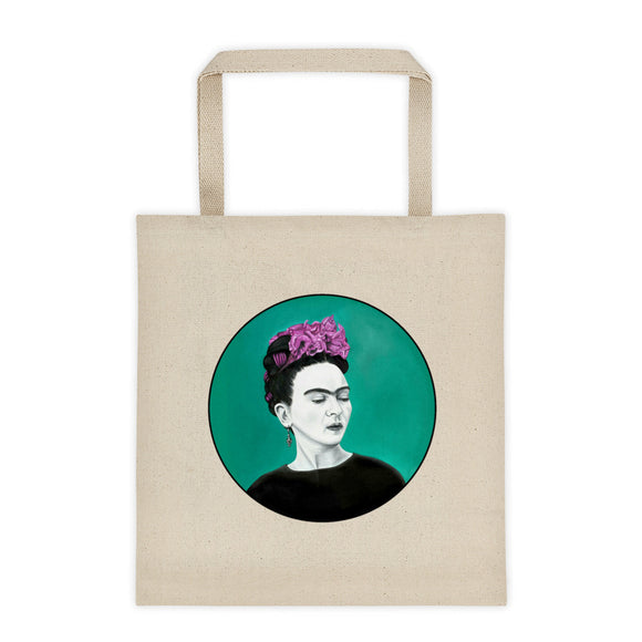 Frida Circle Tote bag 12oz