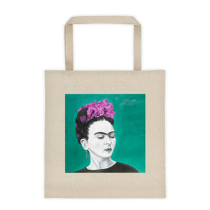 Frida Sola Tote bag 12oz.