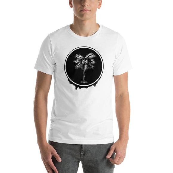 Palma Drip B&W Men's T-Shirt
