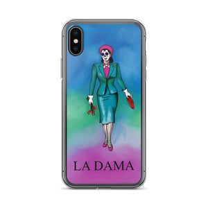 La Dama Loteria iPhone Case