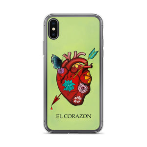 El Corazon Loteria iPhone Case