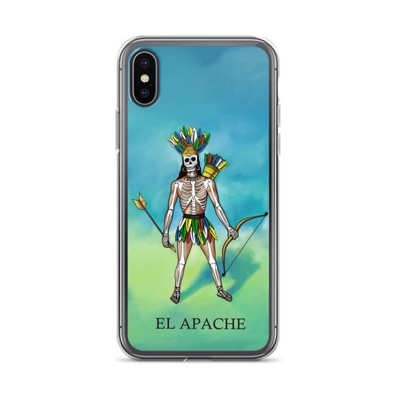 El Apache Loteria iPhone Case