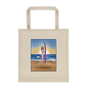 La Surfista Tote bag 12oz