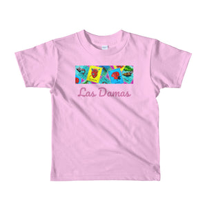 Las Damas Loteria Crop All-Over kids 2-6 yrs t-shirt