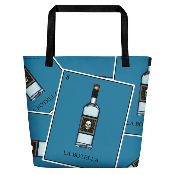 La Botella Loteria All-Over Beach Bag