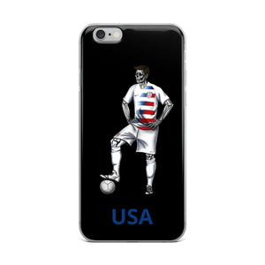 El Futbolista USA Plain iPhone Case