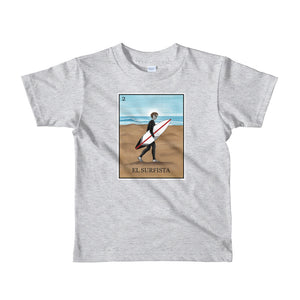 El Surfista kids 2-6 yrs t-shirt