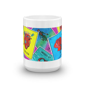 Las Damas Loteria Crop All-Over Mug