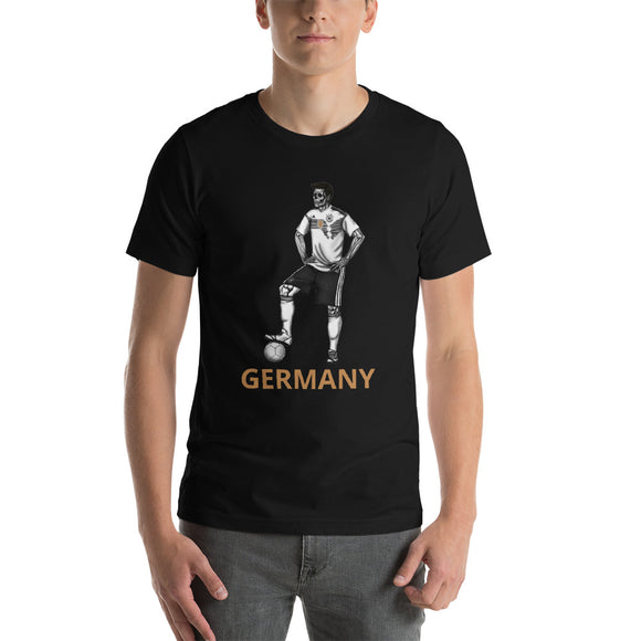 Germany soccer player day of the dead by Pilar Grother