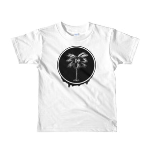 Palma Drip B&W kids 2-6 yrs t-shirt