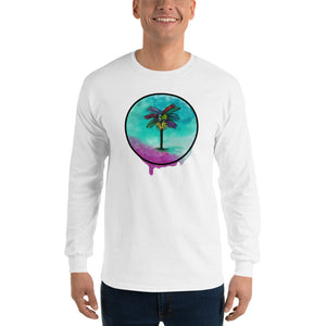 Palma Drip Men's Long Sleeve T-Shirt