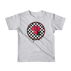 Rosa Dripping Checker Board kids 2-6 yrs t-shirt