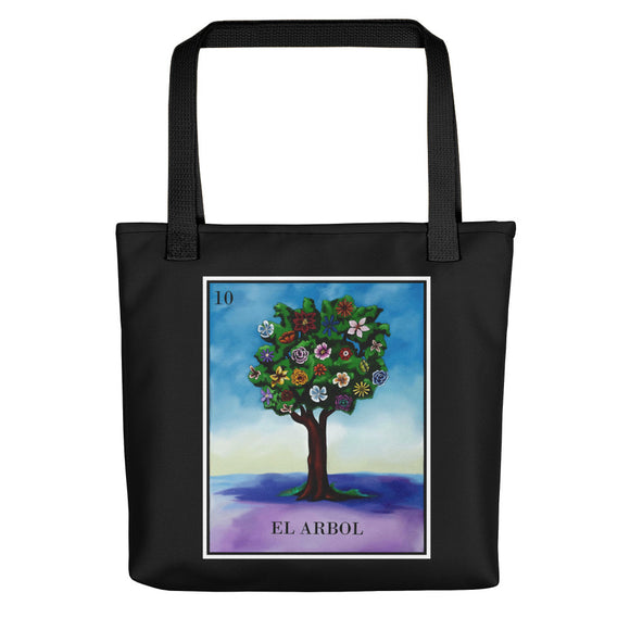 El Arbol Loteria All-Over Tote bag