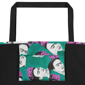 Frida Sola All-Over Beach Bag