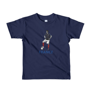El Futbolista France kids 2-6 yrs t-shirt