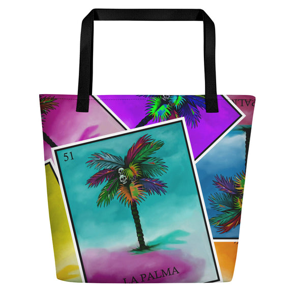 La Palma Pop All-Over Beach Bag