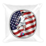 La Futbolista Circle US Basic Pillow