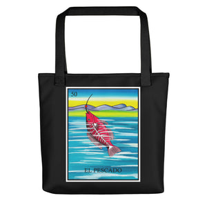 El Pescado Loteria All-Over Tote bag