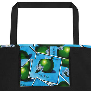 La Pera Loteria All-Over Beach Bag