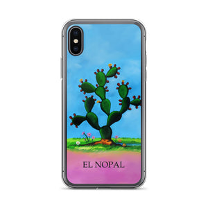 El Nopal Loteria iPhone Case