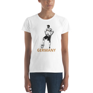 El Futbolista Germany Plain Women's t-shirt