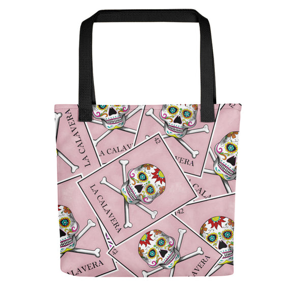 La Calavera Loteria All-over Tote bag